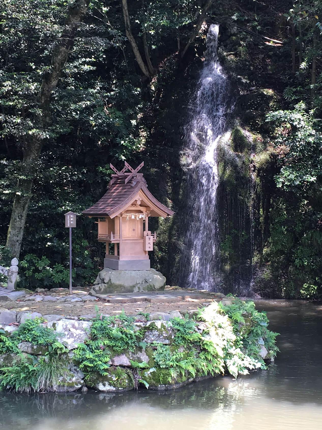 亀の尾の滝